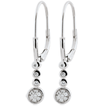 gifts woman Irissa diamond earrings