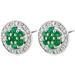 weddings Isalia Emerald Earrings