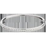 vente on line Jonc Constellation - Astrale - 1 rang de diamants - 1.24 carat - 21 diamants