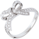 present Knotted rings diamonds - 0.423 carat