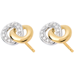 sell on line Loop Stud Earrings - 20 diamonds