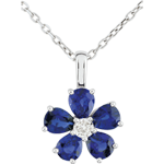 buy on line Maria Flora Sapphire Necklace