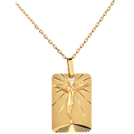 Medaille Christus