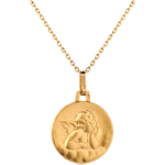 sell on line Medal of Angel Raphael and the clouds - 16mm - 9 carat