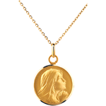 buy on line Medal Praying Mary 16mm - 9 carat