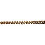 Medium Yellow Gold 42cm Gourmette Chain