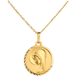 Geschenke Moderne Medaille Jungfrau 16mm