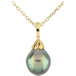 gifts women Mother-of-pearl Tear-drop Pendant