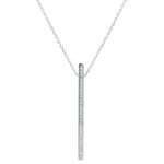 gifts Necklace Constellation - Astral - white gold and diamonds - 9 carats