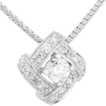 Necklace Destiny - Persian Princess - white gold and diamonds