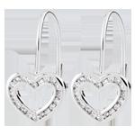 online kaufen Ohrhänger Herz Téa - 40 Diamanten
