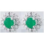 Verkauf Ohrringe Clévia - Smaragd
