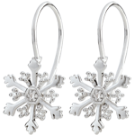 Juwelier OhrringeSchneeflocke Austral