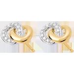 Ohrstecker Zweisamkeit - 20 Diamanten