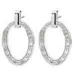 wedding Ovalia Earrings