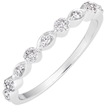 Petite Pampilles - 18K white gold and diamonds