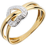 gold jewelry Planète Amour Ring