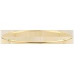 Pulsera Jonc Jungle Sacrée - diamantees- Oro Amarillo de 9 quilates