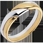 Ring Attractie Geel Goud - Wit Goud
