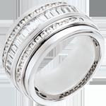 Ring Betovering - Melkweg - 1.58 karaat - 48 diamanten