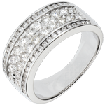 Ring Constellation - Cosmos - 62 diamonds