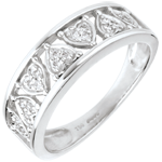 wedding Ring Destiny - Clothilde - white gold