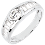 gift women Ring Destiny - Solitaire Aphrodite - 0.46 carat diamond