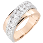 women Ring Destiny - Victoria - Rose Gold - 18 carat