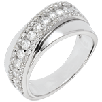 gift Ring Destiny - Victoria - white gold