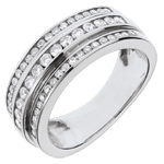 gifts women Ring Enchantment - Milky Way - 0.63 carat - 52 diamonds