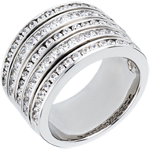 sales on line Ring Enchantment - Milky Way - white gold paved - 2.42 carat - 81 diamonds