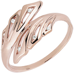 on line sell Ring Freshness - Palms - rose gold