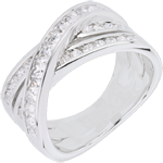 buy on line Ring Great Saturn - white gold - 1.37 carat