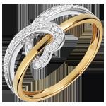 Ring harten band 2 goudsoorten