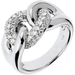 Ring Lien Infini in Weissgold