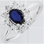 online verkopen Ring Marguerite Illusie - saffier