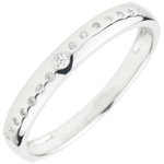 Ring Nuptial met Diamanten