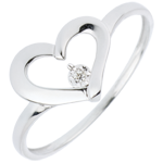 gold jewelry Ring Precious Heart