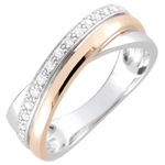 gifts Ring Rings - rose gold. white gold and diamonds