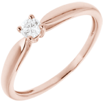 women ring rose gold