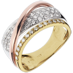 gift women Ring Royal Saturn - 3 golds