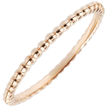 Ring Salty Flower - rose gold - 9 carat