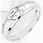 Online Verkäufe Ring Schicksal - Solitär Aphrodite - Diamant 0.46 Karat