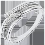 Verkauf Ring Serenity -Weißgold mit 6 Diamanten
