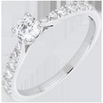 Ring Solitair Belle Cherie Wit Goud - 0.3 karaat Diamant