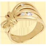 Geschenk Ring Spaziergang der Sinne - Camouflage - Gelbgold