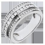 Frau Ring Sternbilder - Milchstraße - 0.63 Karat - 52 Diamanten