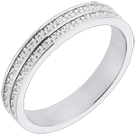 Roads of Life Wedding Ring