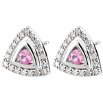 on-line buy Rose Sapphire Salma Earrings