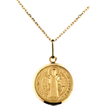 women Saint Benedict Medal - 16mm